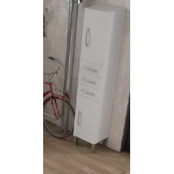 COLUMNA CITY 35 CM. BLANCO BRILLO