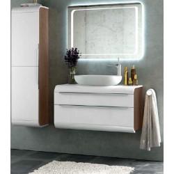 Mueble de baño Happy blanco brillo
