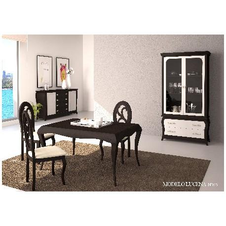 Muebles para comedor estilo isabelino modelo lucena for Muebles lucena liquidacion