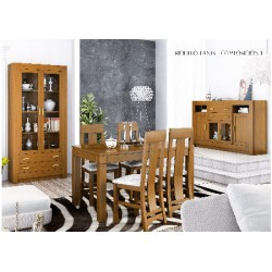 Muebles de comedor modelo Tania