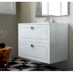 Mueble de baño Dalma 2 cajones suspendido
